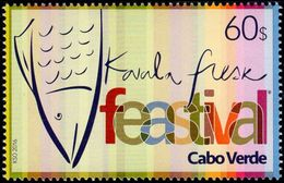 Cape Verde - 2016 - Kavala Fresk Festival - Mint Stamp - Cape Verde