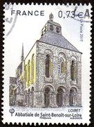 Oblitération Cachet à Date Sur Timbre De France N° 5146 - Abbaye De Saint Benoît Sur Loire - France