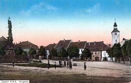 GASTORF N.W.B. (Hoštka, Nordböhmen) - Ringplatz - Böhmen Und Mähren
