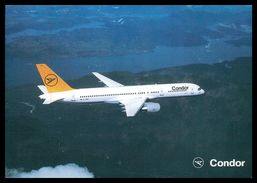AIRPLANES - MODERN ERA -« CONDOR» B 757carte Postale - 1946-....: Moderne