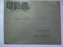 GERMANY - Inflation Period Cover - 1921 Berlin To Liverpool England - 30pf Rate - Germania