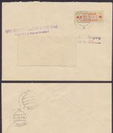 FREITAL ZKD B18IIM VEB Edelstahlwerk 8. Mai 1945, Ortsbrief, Zentraler Kurierdienst Der DDR - Oficial