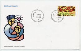 GREENLAND 1993 Anti-AIDS Campaign On FDC.  Michel 238 - FDC