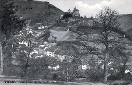 VIANDEN - Vue Prise De La Route De Diekirch, Gel.1911 - Vianden
