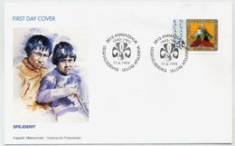 GREENLAND 1993 50th Anniversary Of Scouting On FDC.  Michel 237 - FDC