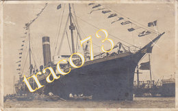"""PIROSCAFO """" SOLUNTO """"  BENGASI /  Escursione In Cirenaica - Cartolina Fotografica  _ Viaggiata 12.4.1920 - Libye"""