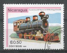 Nicaragua 1981. Scott #1133 (U) Vaporcito 93, Locomotive - Nicaragua