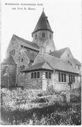 SINT-BAAFS-VIJVE - Romaansche Monumentale Kerk - Fotokaart, Niet Gelopen - Wielsbeke