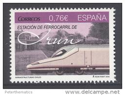 SPAIN, 2014, MNH, TRAINS, 1v - Trains