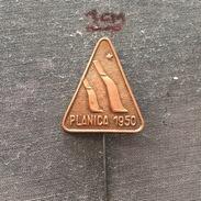 Badge (Pin) ZN006217 - Skiing / Ski Jumping Yugoslavia Slovenia Planica 1950 - Winter Sports