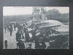 CP MILITARIA (V1612) BRASSCHAET POLYGONE (2 Vues) Tir De 4 Canons De 12 C 1904 - Brasschaat