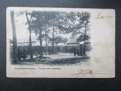 CP MILITARIA (V1612) BRASSCHAET POLYGONE (2 Vues) La Pose Des Sentinelles - Brasschaat