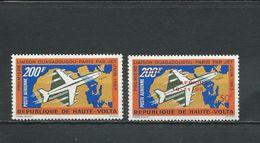 HAUTE-VOLTA  Scott C8, C10 Yvert PA8, PA10 (2) * Cote 5,40$ 1963 - Haute-Volta (1958-1984)