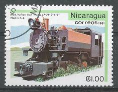 Nicaragua 1981. Scott #1134 (U) Vulcan Iron Works 1946, Locomotive - Nicaragua
