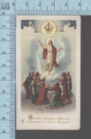 NB 1949- 2 Eme Mystere Glorieux, L'assension De Notre-Seigneur   - Holy Card, Image Sainte Pieuse, Santini - Devotion Images