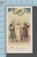 NB 1949-  2eme Mystere Douloureux, La Flagellation  - Holy Card, Image Sainte Pieuse, Santini - Devotion Images