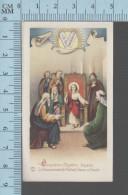 NB 1949- 5eme Mystere Joyeux, Le Recouvrement De Jésus Au Temple - Holy Card, Image Sainte Pieuse, Santini - Devotion Images