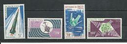 HAUTE-VOLTA  Scott C36-C39 Yvert PA36-PA39 (4) ** Et * Cote 5,50$ 1967 - Haute-Volta (1958-1984)