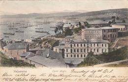 VALPARAISO CHILE - Cerro Alegre 1905? Gelaufen 5 Centavos Frankierung - Chile