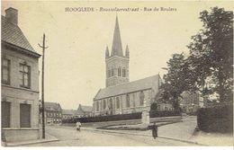 HOOGLEDE - Rousselaerestraat - Rue De Roulers - Hooglede