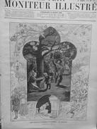 1892 MI3 VIEILLE COUTUME CARÊME LES BRANDONS DANSE NUIT FLAMBEAU EGLISE CIERGE - Ohne Zuordnung