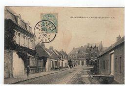 GRAND-BAISIEUX  -  Route De Camphin - E.C. 1906 - Autres Communes