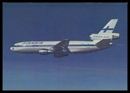 AIRPLANES - MODERN ERA - «FINNAIR » DC-10.carte Postale - 1946-....: Moderne