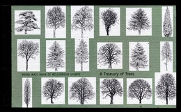 GREAT BRITAIN 2000 A TREASURY OF TREES PRESTIGE BOOKLET - Booklets