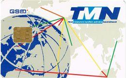 PHONECARDS-PORTUGAL ---   TELEMOVEL--G.S.M.--TMN-GLBO - Portugal