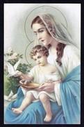 La Vierge Marie Et L'Enfant Jésus - Non Circulé - Not Circulated - Nicht Gelaufen. - Vierge Marie & Madones