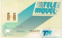PHONECARDS-PORTUGAL ---   TELEMOVEL--G.S.M.--TMN- 1 STICKY PAPER - Portugal