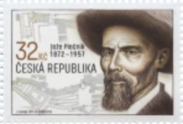 CZ 2017-930 Jože Plečnik. CZECH REPUBLIK, 1 X 1v, MNH - Slowenien