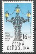 CZ 2017-940 GASS LIGHT. CZECH REPUBLIK, 1 X 1v, MNH - Gas
