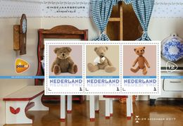Nederland  2017     TEDDYBEREN  TEDDYBEARS  M/S   Postfris/mnh/neuf - Periode 1980-... (Beatrix)
