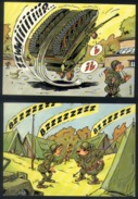 Z06 - 4 Cards Used - Military Army Humour - Humor