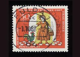 """BRD 1969, Michel-Nr. 540, Wohlfahrt 1967, 30 Pf., Schöner Stempel """"FULDA"""", Siehe Foto - Usados"""