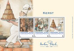 Nederland  2017    ANTON PIECK   KERSTMIS CHRISTMAS   M/S   Postfris/mnh/neuf - Periode 1980-... (Beatrix)