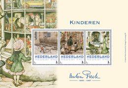 Nederland  2017    ANTON PIECK   KINDEREN   M/S   Postfris/mnh/neuf - Periode 1980-... (Beatrix)