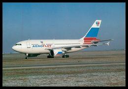 AIRPLANES - MODERN ERA- «AEROFLOT» AIRBUS A.310.308( F-OGOR) .carte Postale - 1946-....: Moderne