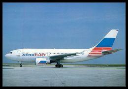 AIRPLANES - MODERN ERA - «AEROFLOT» AIRBUS A.310.300  .carte Postale - 1946-....: Moderne