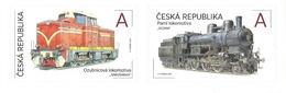 CZ 2017-931-2 LOCOMOTIVE. CZECH REPUBLIK, 1 X 2v, MNH - Eisenbahnen