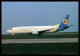 AIRPLANES - MODERN ERA - «UKRAINE INTERNATIONAL » BOEING 737-4Y0 ( UR-GAA)  Carte Postale - 1946-....: Moderne