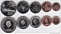 Tokelau - Set 5 Coins 1 + 2 + 5 + 10 + 20 Cents 2012 UNC Lemberg-Zp - Andere - Oceanië
