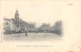 REIMS - Place Drouet D'Erlon Et Eglise Saint Jacques - Reims