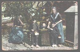 Hierden - Op De Veluwe - Kleederdracht Van Hierden Bij Harderwijk - 1916 - Naar Christchurch (Australië) - Folklore - Harderwijk