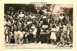 Réf : A-18 Pie Tre-1110 : CONGO BELGE. MISSION SALESIENNE. LA KAFUBU. - Congo Belge - Autres