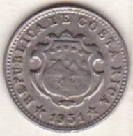 Costa Rica . 5 Centimos 1951 . Copper-Nickel. KM# A184 - Costa Rica