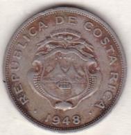Costa Rica . 50 Centimos 1948 . Copper-Nickel . KM# 176 - Costa Rica