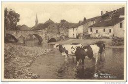 MARTELANGE ..-- Pont Romain . Vaches . - Martelange