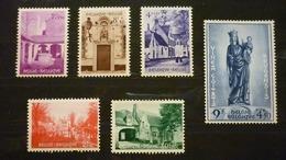 N°946/951 - Belgique/België 1954 - Béguinage De Bruges/Brugge Begijnhof - Neufs
